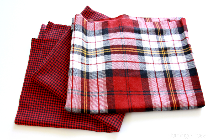 Plaid Fabric for Scarf