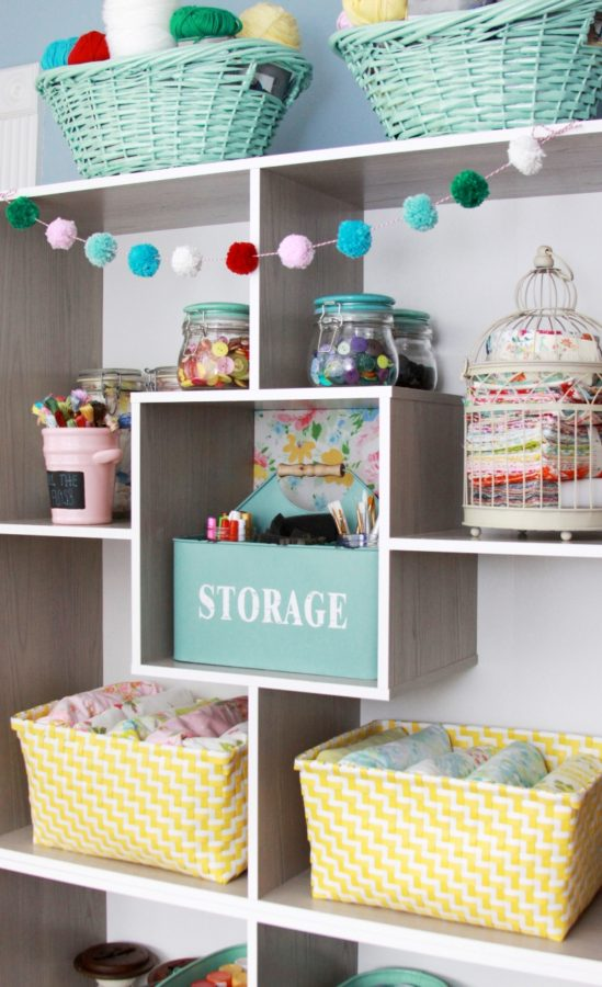craft room shelving ideas creative craft room storage 4035
