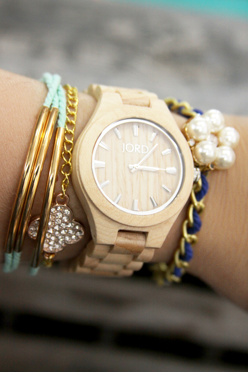 Diy Summer Layered Bracelets And Gorgeous Watch