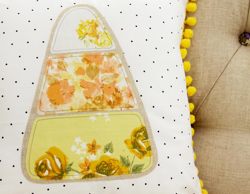 vintage-sheet-candy-corn-pillow